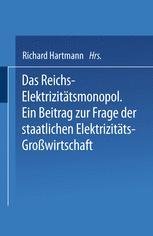 Das Reichs-Elektrizitätsmonopol