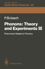 Phonons: Theory and Experiments III