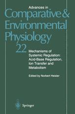 Mechanisms of Systemic Regulation: Acid—Base Regulation, Ion-Transfer and Metabolism