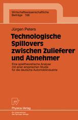Technologische Spillovers zwischen Zulieferer und Abnehmer