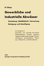 Die Gewerblichen und Industriellen Abwässer