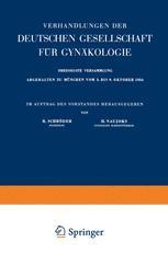Archiv für Gynäkologie
