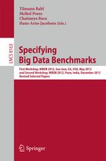 Specifying Big Data Benchmarks