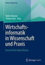 Wirtschaftsinformatik in Wissenschaft und Praxis