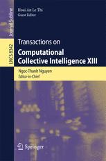 Transactions on Computational Intelligence XIII