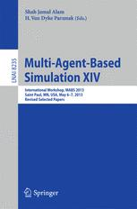 Multi-Agent-Based Simulation XIV