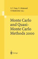 Monte Carlo and Quasi-Monte Carlo Methods 2000