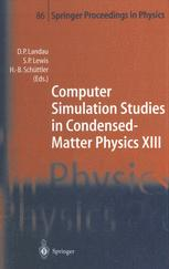Computer Simulation Studies in Condensed-Matter Physics XIII