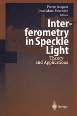 Interferometry in Speckle Light