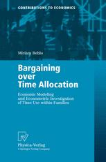 Bargaining over Time Allocation