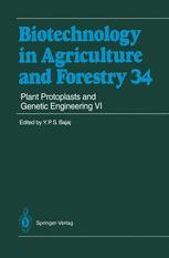 Plant Protoplasts and Genetic Engineering VI