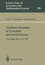 Nonlinear Dynamics in Economics and Social Sciences