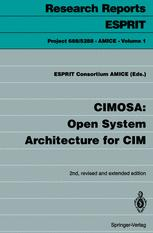 CIMOSA: Open System Architecture for CIM