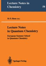 Lecture Notes in Quantum Chemistry