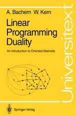 Linear Programming Duality