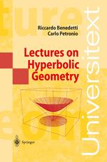 Lectures on Hyperbolic Geometry