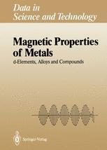 Magnetic Properties of Metals