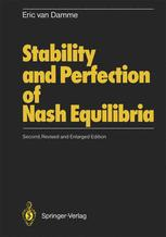 Stability and Perfection of Nash Equilibria