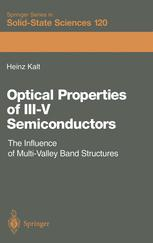 Optical Properties of III–V Semiconductors