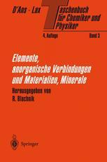 Taschenbuch für Chemiker und Physiker