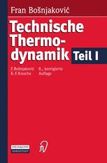 Technische Thermodynamik Teil I