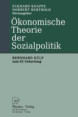 Ökonomische Theorie der Sozialpolitik