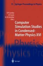 Computer Simulation Studies in Condensed-Matter Physics XVI