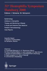 31st Hemophilia Symposium Hamburg 2000