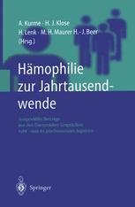 Hämophilie zur Jahrtausendwende