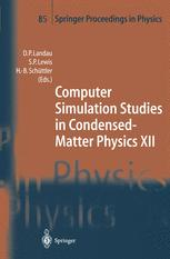 Computer Simulation Studies in Condensed-Matter Physics XII