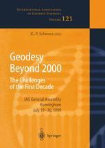 Geodesy Beyond 2000