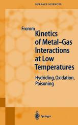 Kinetics of Metal-Gas Interactions at Low Temperatures