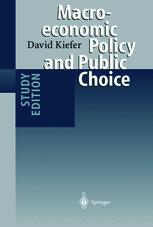 Macroeconomic Policy and Public Choice