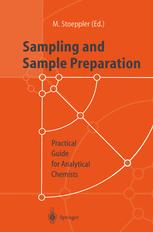Sampling and Sample Preparation