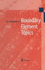 Boundary Element Topics