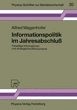 Informationspolitik im Jahresabschluß