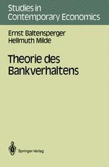 Theorie des Bankverhaltens