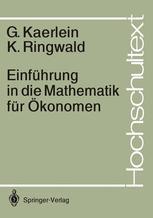 Einführung in die Mathematik für Ökonomen