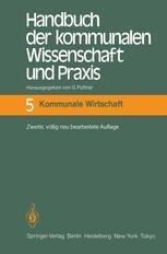 Handbuch der kommunalen Wissenschaft und Praxis