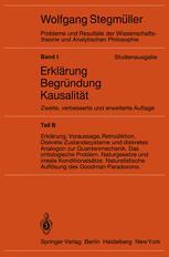Statistische Erklärungen. Deduktiv-nomologische Erklärungen in präzisen Modellsprachen Offene Probleme
