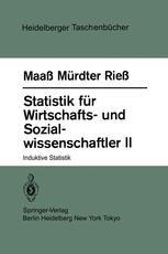 Statistik für Wirtschafts- und Sozialwissenschaftler II