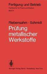 Prüfung metallischer Werkstoffe