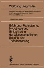 Erfahrung, Festsetzung, Hypothese und Einfachheit in der wissenschaftlichen Begriffs- und Theorienbildung