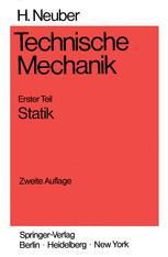 Technische Mechanik Methodische Einführung