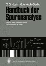 Handbuch der Spurenanalyse
