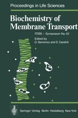 Biochemistry of Membrane Transport
