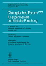 Chirurgisches Forum '77 für experimentelle und klinische Forschung