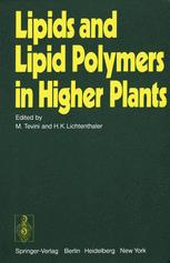 Lipids and Lipid Polymers in Higher Plants