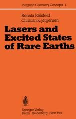 Lasers and Excited States of Rare Earths