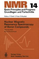 Nuclear Magnetic Resonance Spectroscopy of Boron Compounds